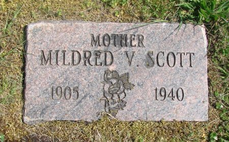 SCOTT, MILDRED VIOLET - Linn County, Oregon | MILDRED VIOLET SCOTT - Oregon Gravestone Photos