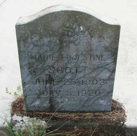 SCOTT, MARIE ERNESTINE - Linn County, Oregon | MARIE ERNESTINE SCOTT - Oregon Gravestone Photos