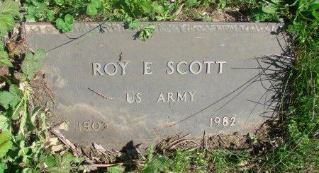 SCOTT, ROY ELSWORTH - Linn County, Oregon | ROY ELSWORTH SCOTT - Oregon Gravestone Photos