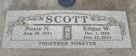 SCOTT, SUSIE N - Linn County, Oregon | SUSIE N SCOTT - Oregon Gravestone Photos