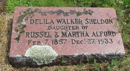 WALKER, DELILA - Linn County, Oregon   DELILA WALKER - Oregon Gravestone Photos