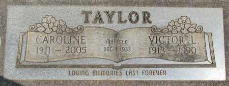 TAYLOR, VICTOR LEE - Linn County, Oregon | VICTOR LEE TAYLOR - Oregon Gravestone Photos