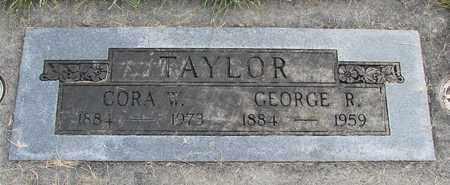 TAYLOR, CORA ALTHEA - Linn County, Oregon | CORA ALTHEA TAYLOR - Oregon Gravestone Photos