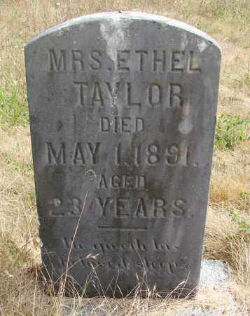 TAYLOR, ETHEL - Linn County, Oregon | ETHEL TAYLOR - Oregon Gravestone Photos