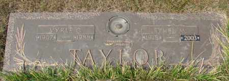 TAYLOR, ETHEL M - Linn County, Oregon | ETHEL M TAYLOR - Oregon Gravestone Photos