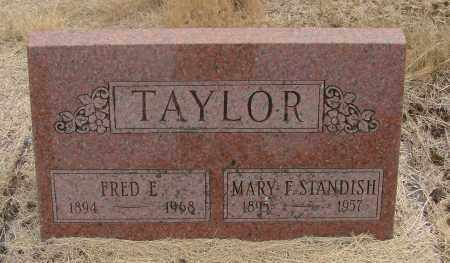 TAYLOR, MARY FRANCES - Linn County, Oregon | MARY FRANCES TAYLOR - Oregon Gravestone Photos