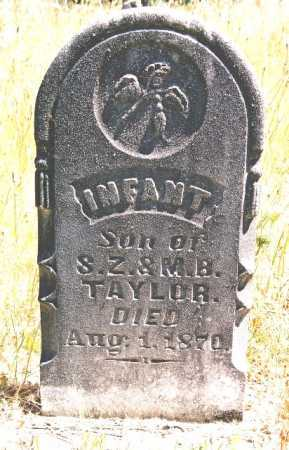 TAYLOR, INFANT SON - Linn County, Oregon | INFANT SON TAYLOR - Oregon Gravestone Photos