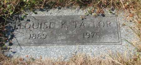 TAYLOR, LOUISE R - Linn County, Oregon | LOUISE R TAYLOR - Oregon Gravestone Photos