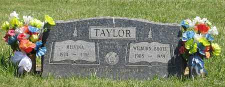 TAYLOR, MELVINA - Linn County, Oregon | MELVINA TAYLOR - Oregon Gravestone Photos
