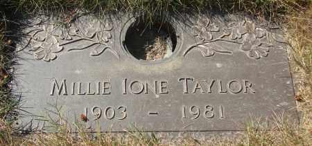 TAYLOR, MILLIE IONE - Linn County, Oregon | MILLIE IONE TAYLOR - Oregon Gravestone Photos