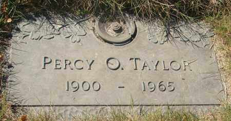 TAYLOR, PERCY O - Linn County, Oregon | PERCY O TAYLOR - Oregon Gravestone Photos
