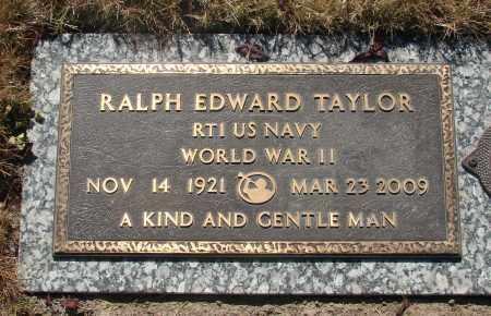TAYLOR, RALPH EDWARD - Linn County, Oregon | RALPH EDWARD TAYLOR - Oregon Gravestone Photos
