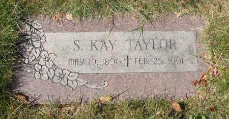 TAYLOR, S KAY - Linn County, Oregon   S KAY TAYLOR - Oregon Gravestone Photos