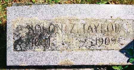 TAYLOR, SOLON - Linn County, Oregon   SOLON TAYLOR - Oregon Gravestone Photos