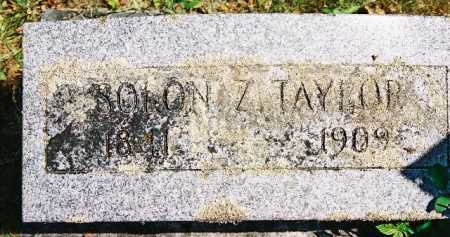 TAYLOR, SOLON - Linn County, Oregon | SOLON TAYLOR - Oregon Gravestone Photos