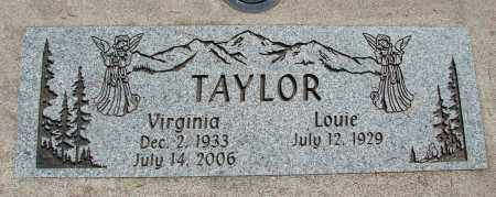 TAYLOR, LOUIE - Linn County, Oregon | LOUIE TAYLOR - Oregon Gravestone Photos