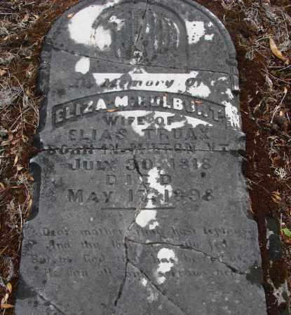 HULBURT, ELIZA M - Linn County, Oregon | ELIZA M HULBURT - Oregon Gravestone Photos