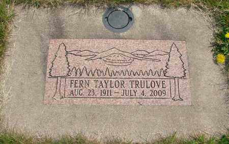 TAYLOR, EDITH FERN - Linn County, Oregon | EDITH FERN TAYLOR - Oregon Gravestone Photos