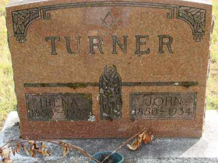 DOW TURNER, IRENA PERMILA - Linn County, Oregon | IRENA PERMILA DOW TURNER - Oregon Gravestone Photos