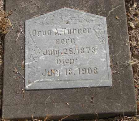 TURNER, ORVA A - Linn County, Oregon | ORVA A TURNER - Oregon Gravestone Photos
