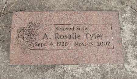 TYLER, ALTHA ROSALIE - Linn County, Oregon | ALTHA ROSALIE TYLER - Oregon Gravestone Photos