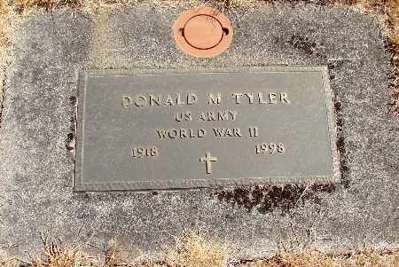 TYLER, DONALD MARVIN - Linn County, Oregon | DONALD MARVIN TYLER - Oregon Gravestone Photos