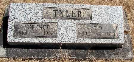TYLER, FLORENCE - Linn County, Oregon | FLORENCE TYLER - Oregon Gravestone Photos