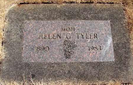 TYLER, HELEN GLADES - Linn County, Oregon | HELEN GLADES TYLER - Oregon Gravestone Photos