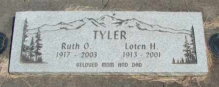 TYLER, RUTH O - Linn County, Oregon | RUTH O TYLER - Oregon Gravestone Photos