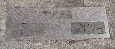 TYLER, WILBER - Linn County, Oregon | WILBER TYLER - Oregon Gravestone Photos