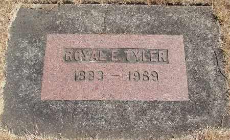 TYLER, ROYAL EDWARD - Linn County, Oregon | ROYAL EDWARD TYLER - Oregon Gravestone Photos