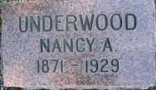 UNDERWOOD, NANCY - Linn County, Oregon | NANCY UNDERWOOD - Oregon Gravestone Photos