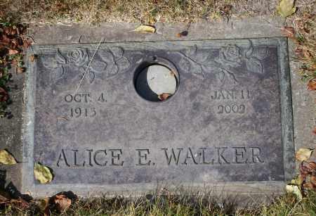 WALKER, ALICE E - Linn County, Oregon   ALICE E WALKER - Oregon Gravestone Photos