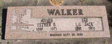WALKER, ESTHER - Linn County, Oregon | ESTHER WALKER - Oregon Gravestone Photos