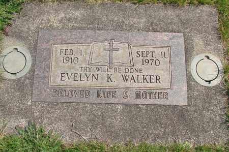 WALKER, EVELYN KATHRYN - Linn County, Oregon | EVELYN KATHRYN WALKER - Oregon Gravestone Photos