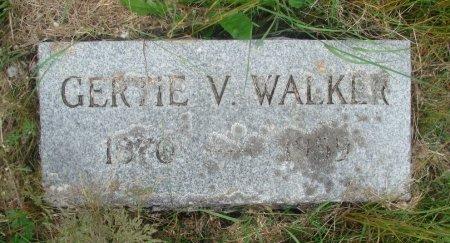 WALKER, GERTRUDE VIOLA - Linn County, Oregon | GERTRUDE VIOLA WALKER - Oregon Gravestone Photos