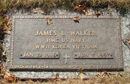 WALKER, JAMES L - Linn County, Oregon | JAMES L WALKER - Oregon Gravestone Photos