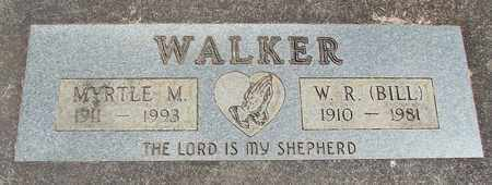 WALKER, MYRTLE M - Linn County, Oregon | MYRTLE M WALKER - Oregon Gravestone Photos