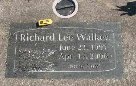 WALKER, RICHARD LEE - Linn County, Oregon | RICHARD LEE WALKER - Oregon Gravestone Photos