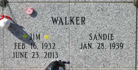 WALKER, JIM - Linn County, Oregon   JIM WALKER - Oregon Gravestone Photos