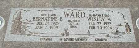 WARD, WESLEY MADISON - Linn County, Oregon | WESLEY MADISON WARD - Oregon Gravestone Photos