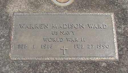 WARD, WARREN MADISON - Linn County, Oregon | WARREN MADISON WARD - Oregon Gravestone Photos
