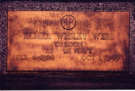 WEBB, ELMER WESLEY - Linn County, Oregon | ELMER WESLEY WEBB - Oregon Gravestone Photos