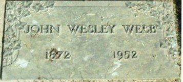 WEBB, JOHN WESLEY - Linn County, Oregon | JOHN WESLEY WEBB - Oregon Gravestone Photos
