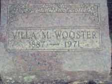 WOOSTER, VILLA M. - Linn County, Oregon | VILLA M. WOOSTER - Oregon Gravestone Photos