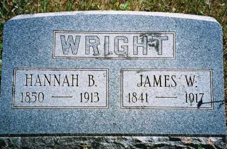 BATEMAN WRIGHT, HANNAH - Linn County, Oregon | HANNAH BATEMAN WRIGHT - Oregon Gravestone Photos