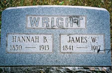 WRIGHT, HANNAH - Linn County, Oregon | HANNAH WRIGHT - Oregon Gravestone Photos