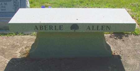 ABERLE, BENCH - Marion County, Oregon | BENCH ABERLE - Oregon Gravestone Photos