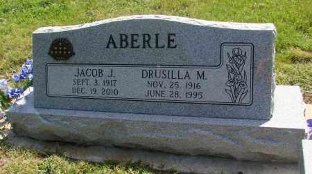 ABERLE, DRUSILLA M - Marion County, Oregon | DRUSILLA M ABERLE - Oregon Gravestone Photos