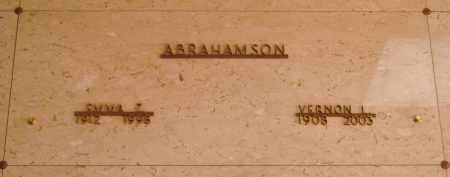 ABRAHAMSON, VERNON L - Marion County, Oregon | VERNON L ABRAHAMSON - Oregon Gravestone Photos